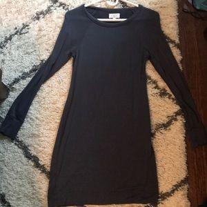 Lou & Grey Dark Grey Sweater Dress Sz XS